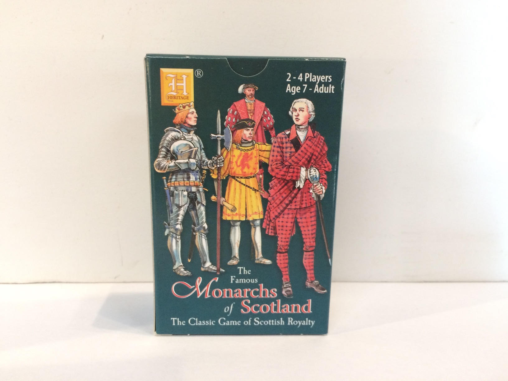 Playing Cards - Monarchs of Scotland