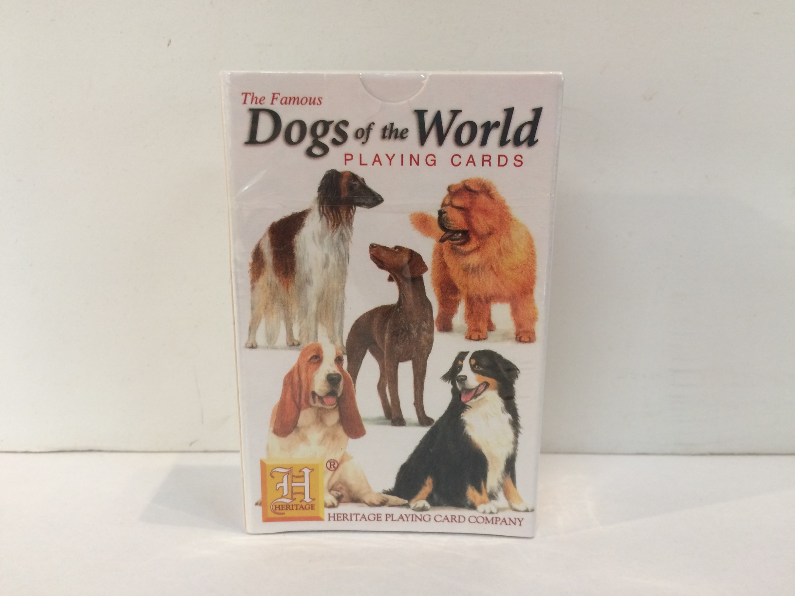 Playing Cards - Dogs of the World