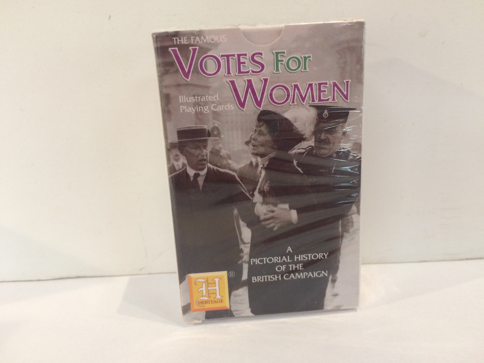 Playing Cards - Votes for Women