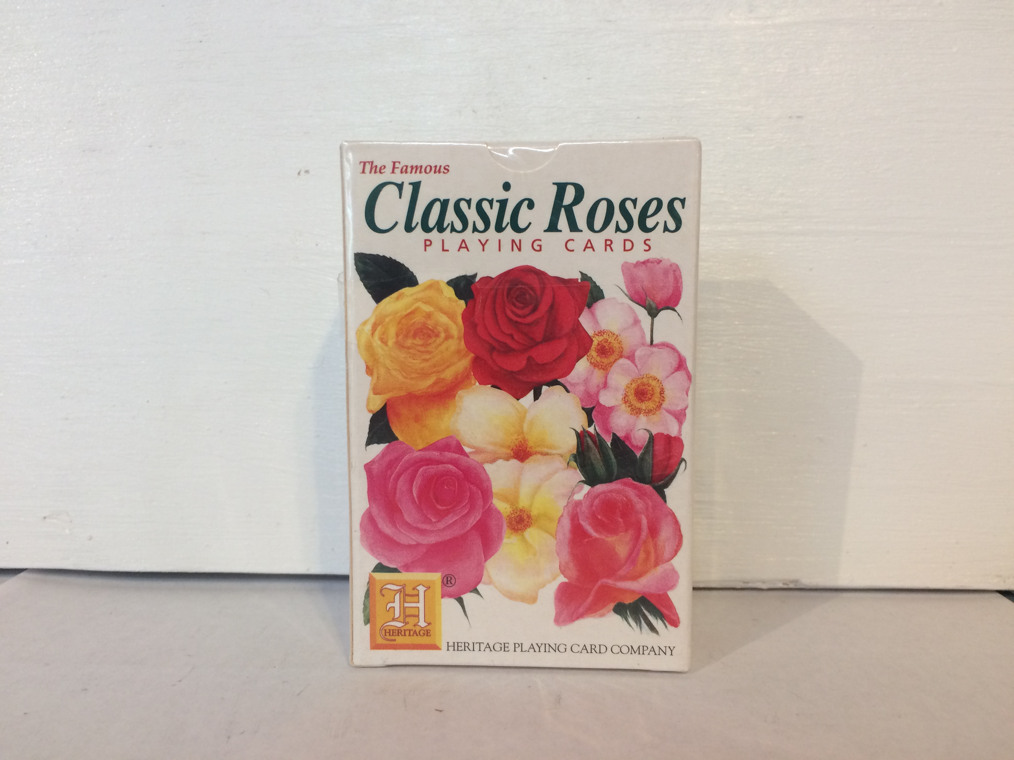 Playing Cards - Classic Roses