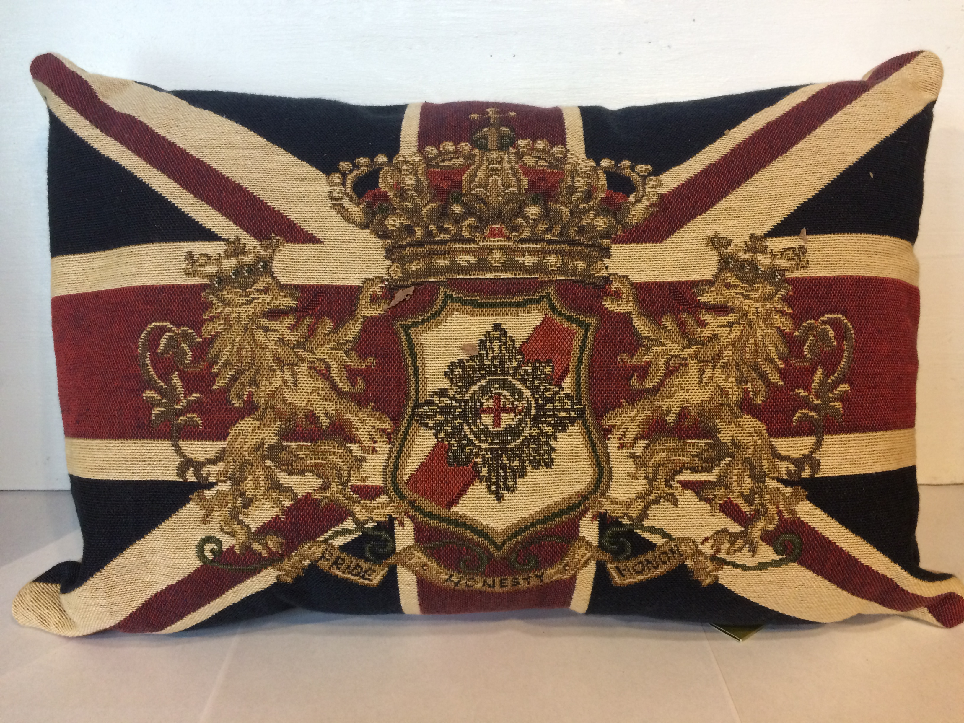 Union Jack Lion Cushion