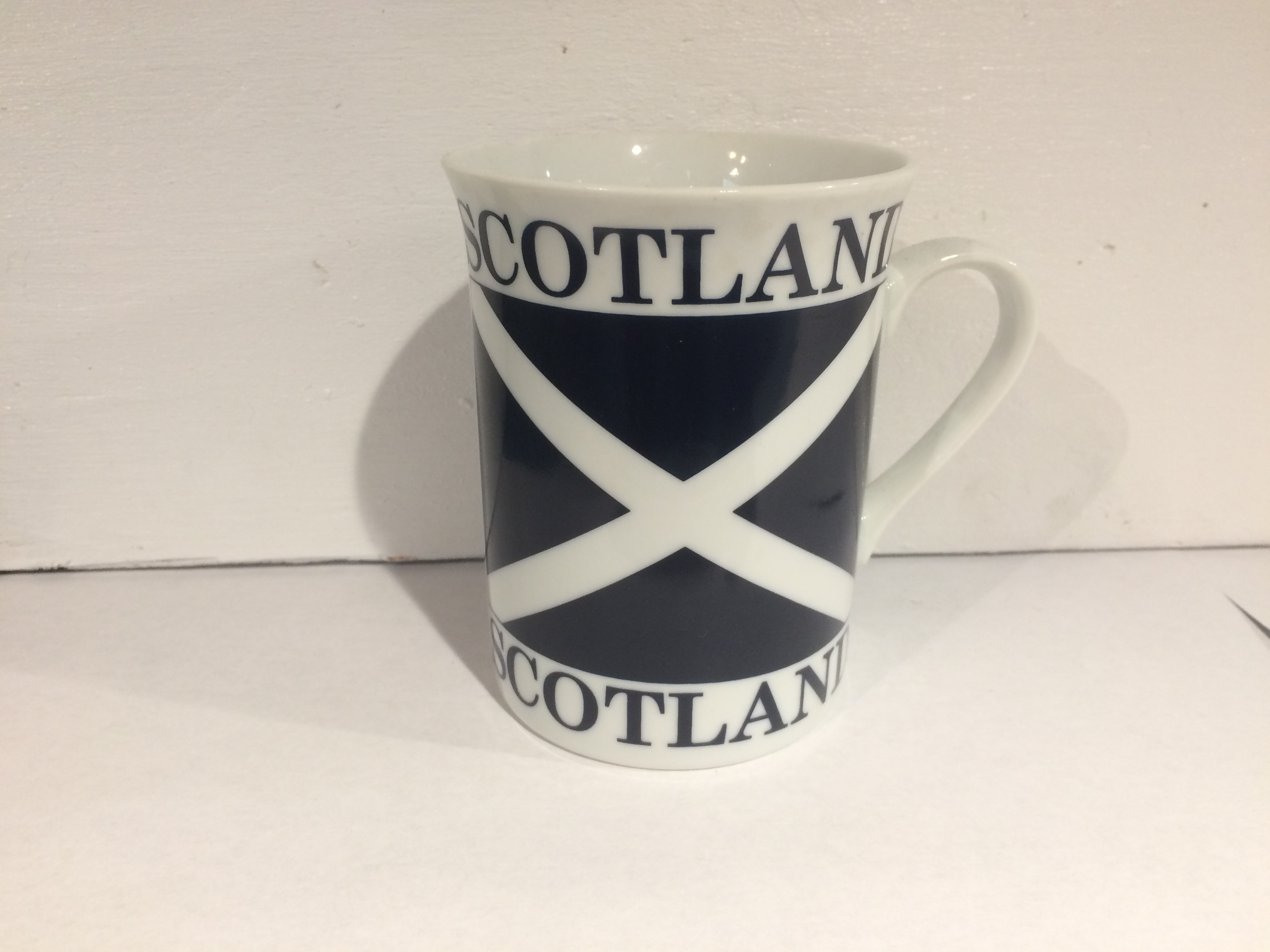 Ceramic Mug - Scottish Flag